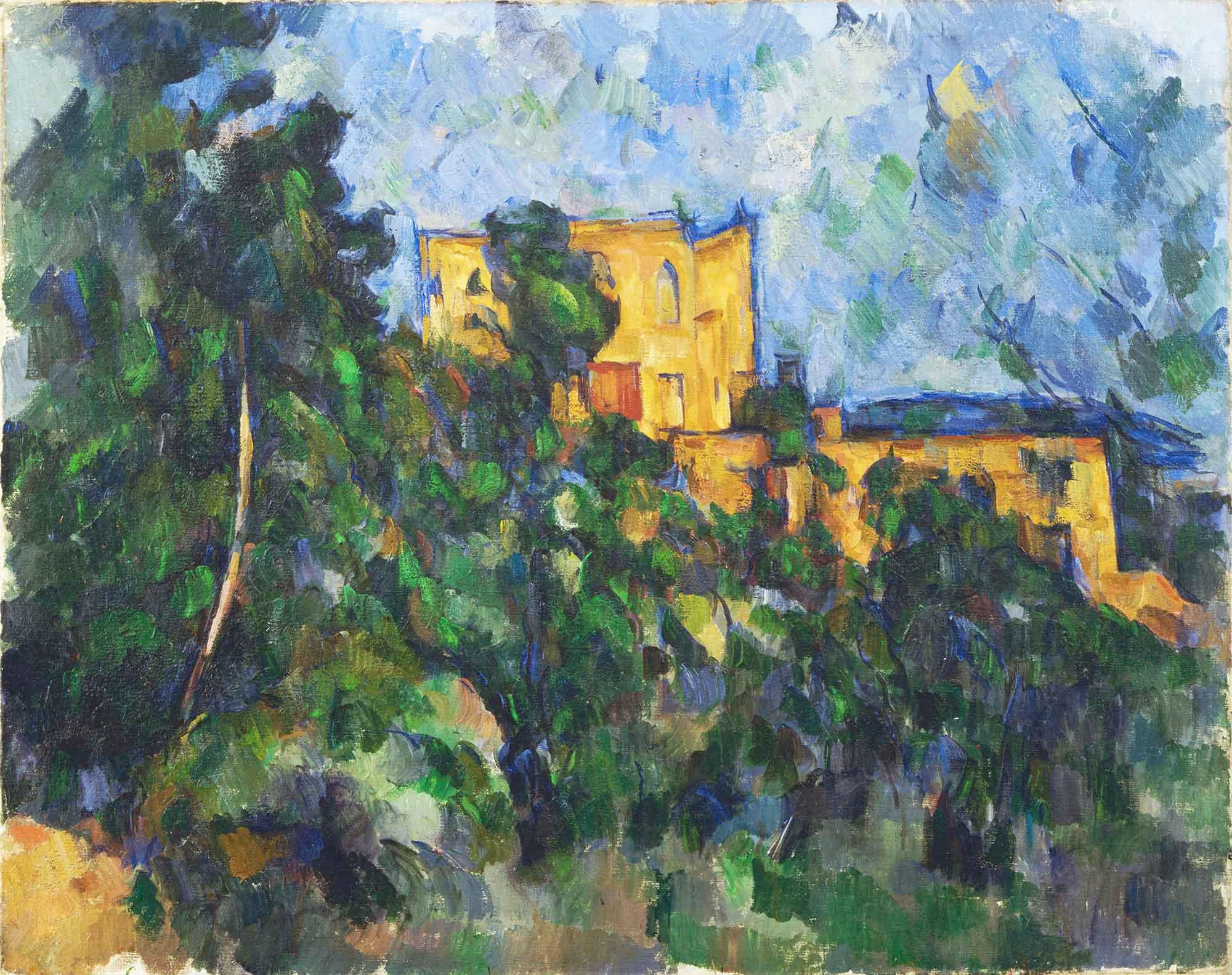 Paul Cezanne Noir Şatosu