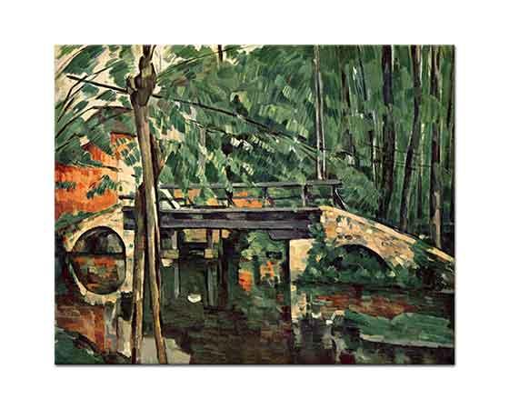 Paul Cezanne Ormanda Köprü