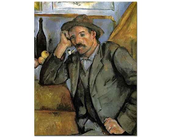 Paul Cezanne Pipo içen Adam