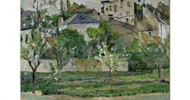 Paul Cezanne Pontoise'de Sebze Bahçesi