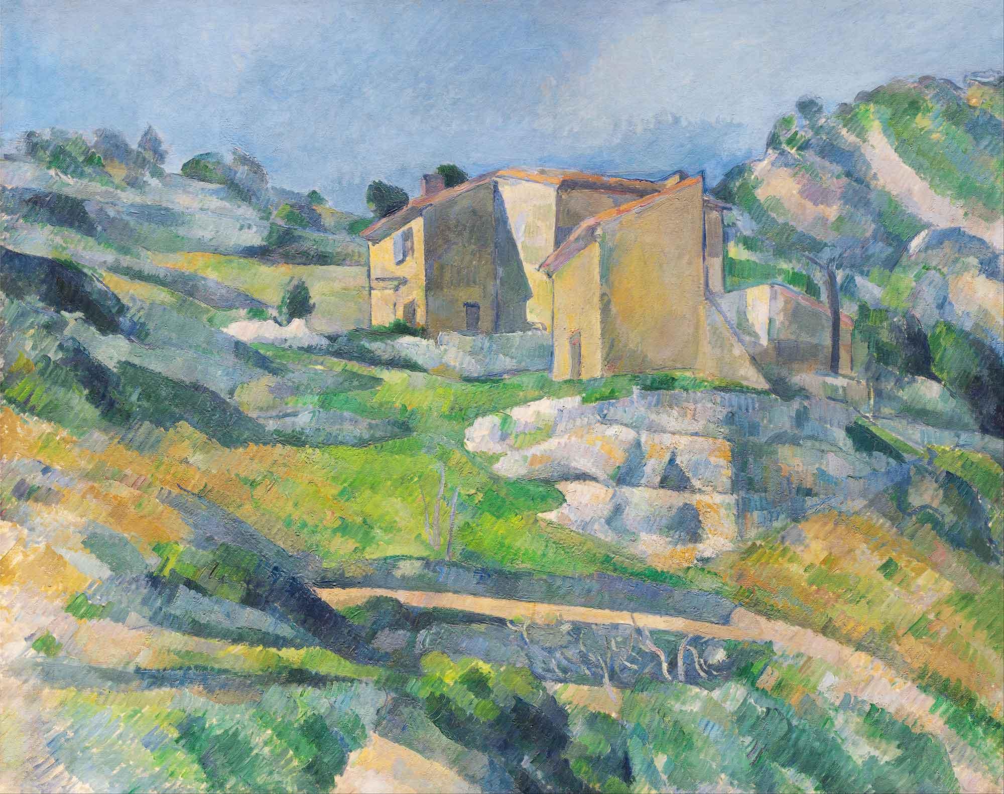 Paul Cezanne Provenc'de Bir Ev