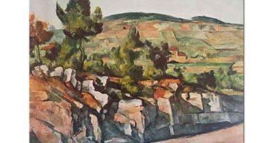 Paul Cezanne Provenc'de Dağlar