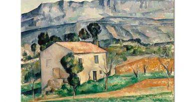 Paul Cezanne Provenc'de Ev