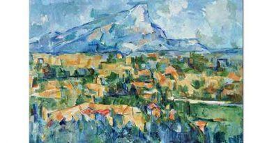 Paul Cezanne Saint Victoria Dağı