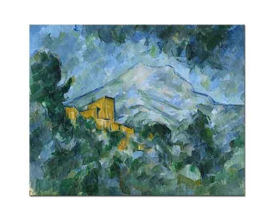 Paul Cezanne Saint Victorie Dağı Noir Şatosu