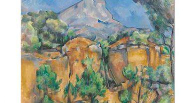 Paul Cezanne Sainte Victoire Tepesi