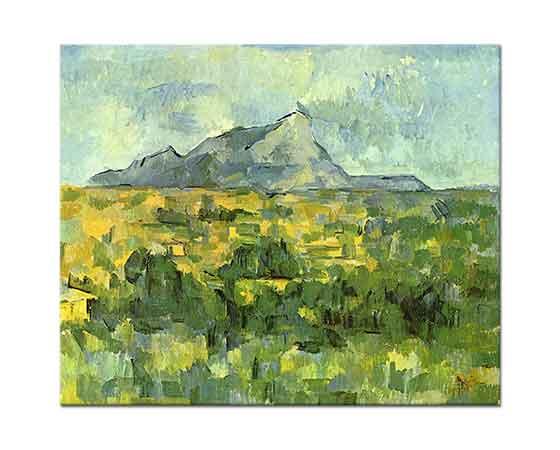 Paul Cezanne Sainte Victoire Dağı