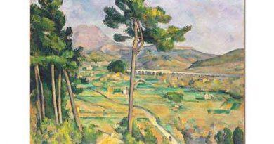 Paul Cezanne Viyadüklü Manzara