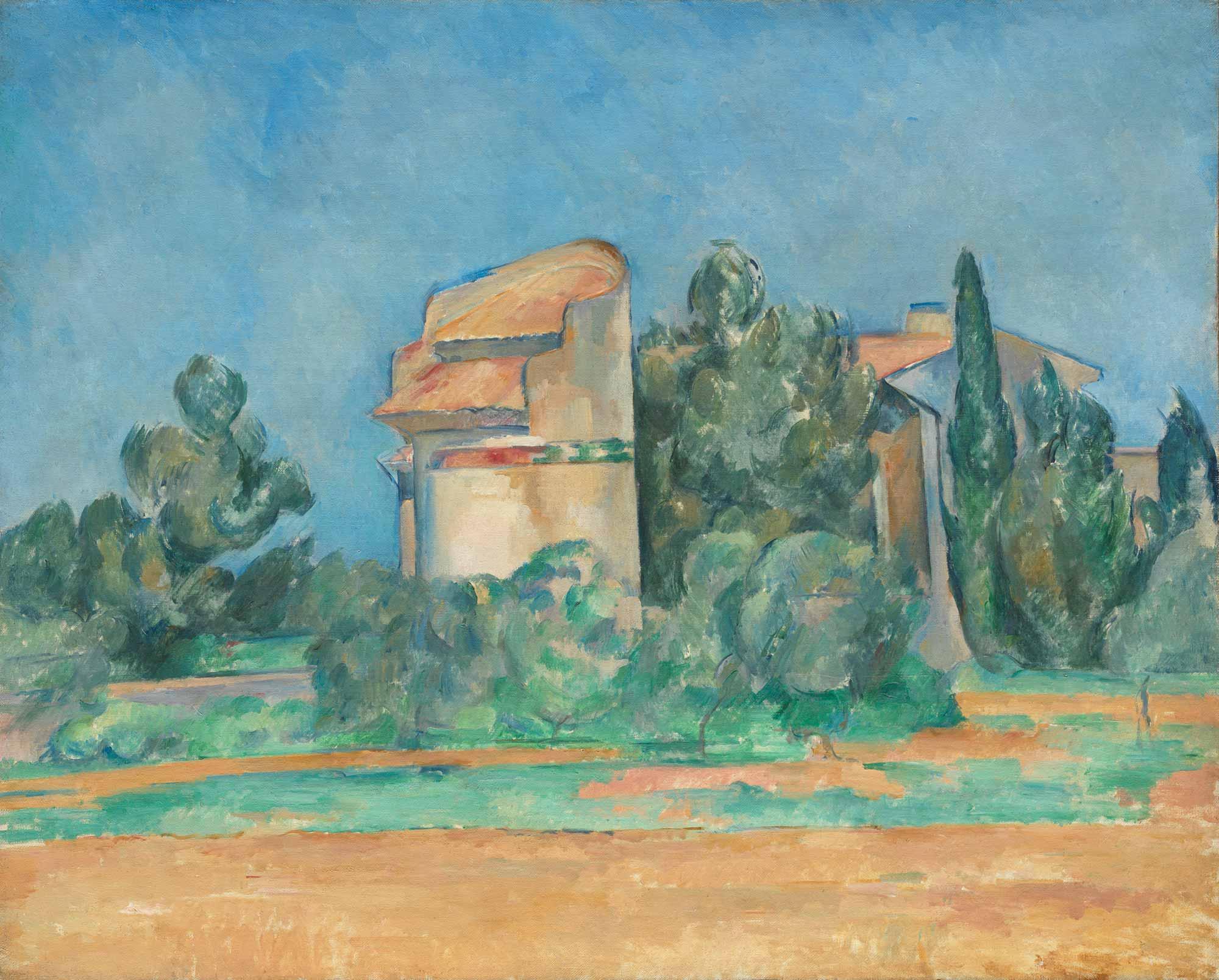Paul Cezanne Yazlık Ev