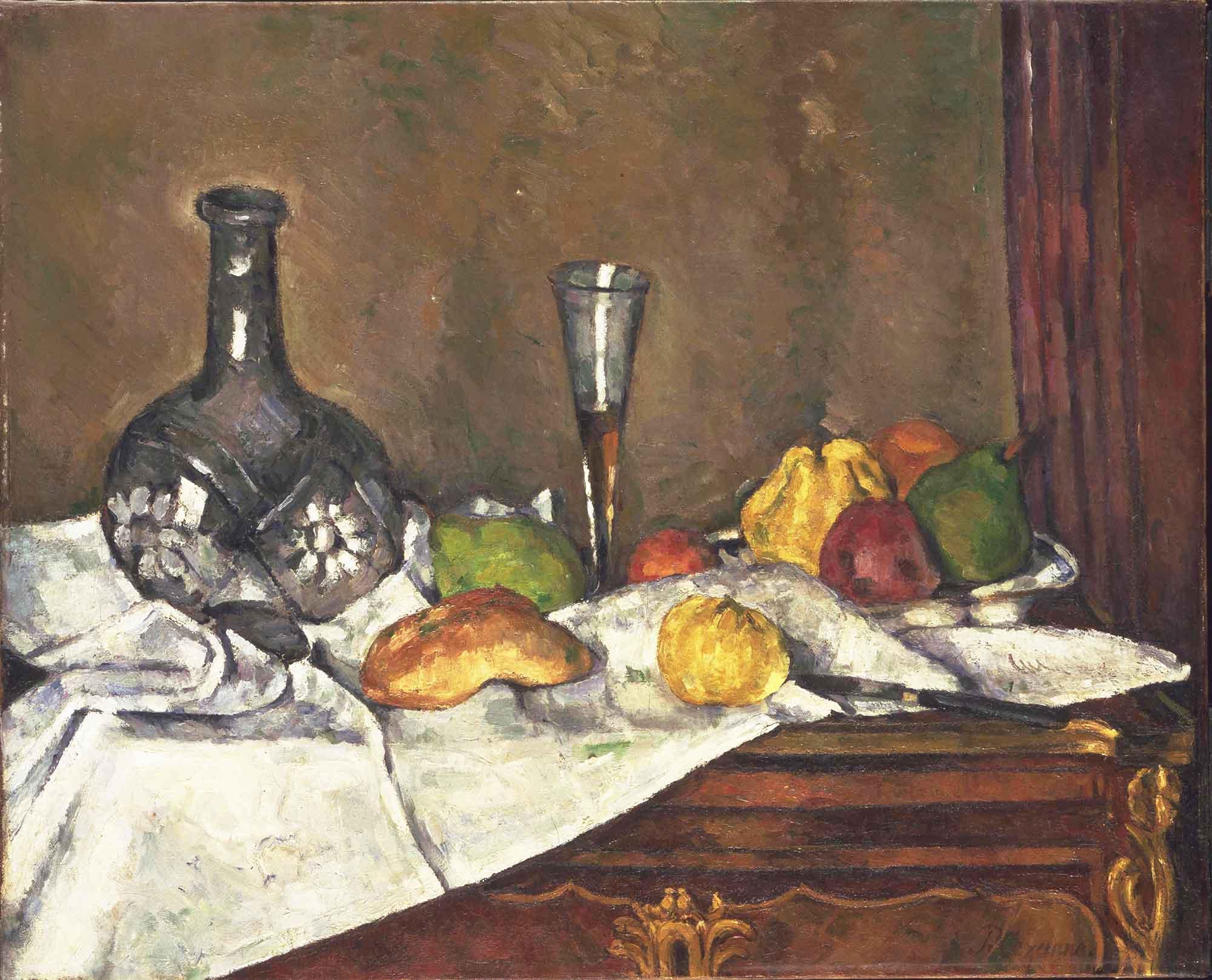 Paul Cezanne Yemek Üstü