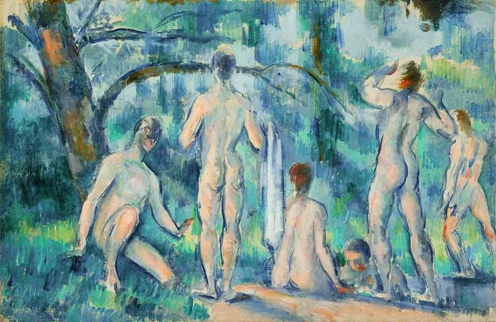Paul Cezanne Yıkananlar III