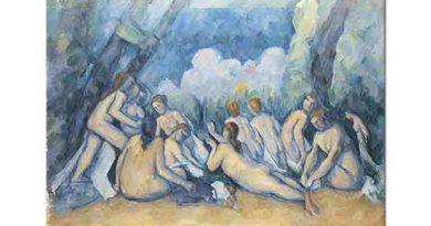 Paul Cezanne Yıkananlar V