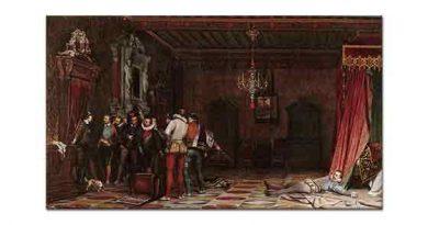 Paul Delaroche Guise Dükünün öldürülüşü
