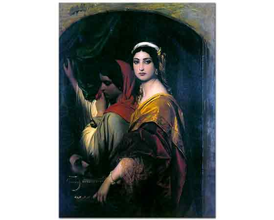 Paul Delaroche Herodias