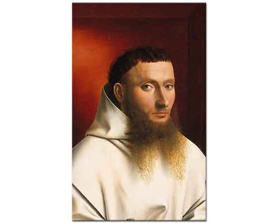 Petrus Christus Bir Carthusian Keşişinin Portresi