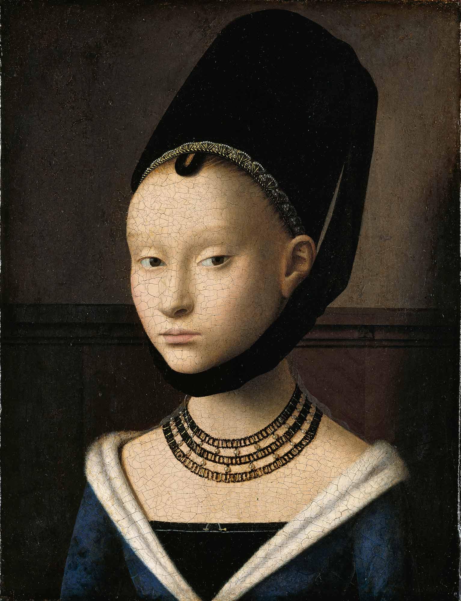 Petrus Christus Genç Kadın Portresi