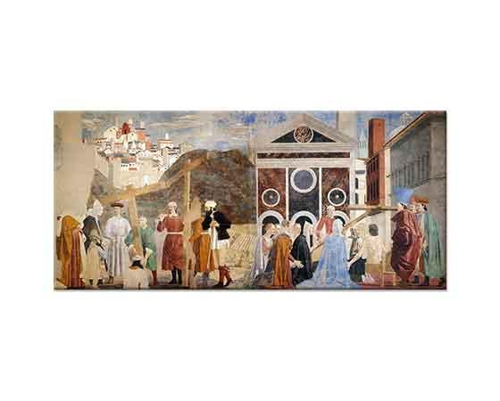 Piero Della Francesca Gerçek Çarmıhın Keşfi