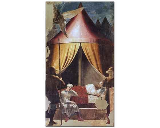 Piero Della Francesca Konstantin'in Düşü