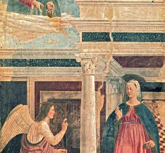 Piero Della Francesca Tebliğ tablosu