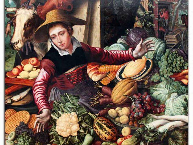 Pieter Aertsen Sebze Satıcısı