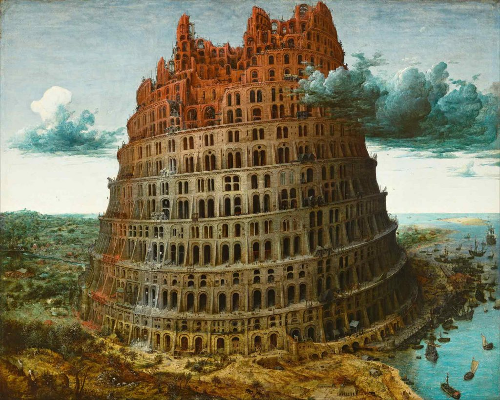 Pieter Bruegel, Babil Kulesi II