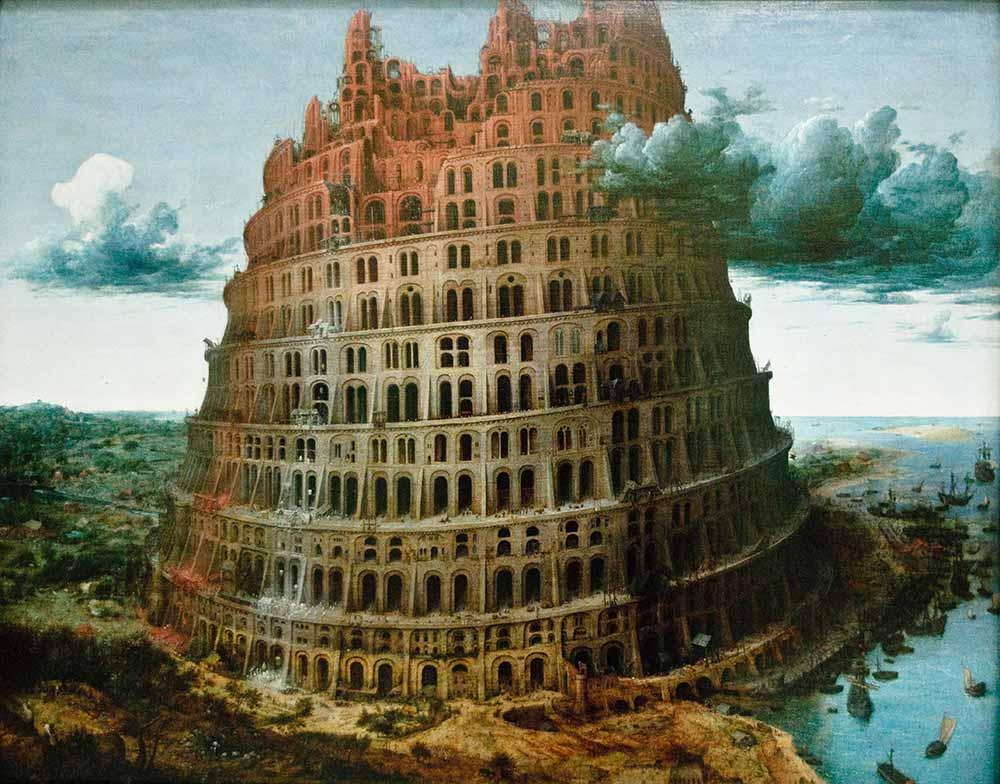 Pieter Bruegel Babil Kulesi II