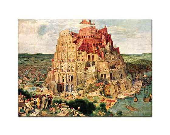Pieter Bruegel Babil Kulesi