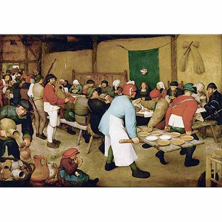 Pieter Bruegel Çiftçi Düğünü