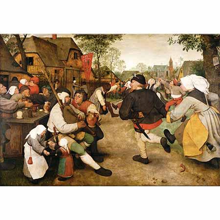 Pieter Bruegel Çiftçilerin Dansı