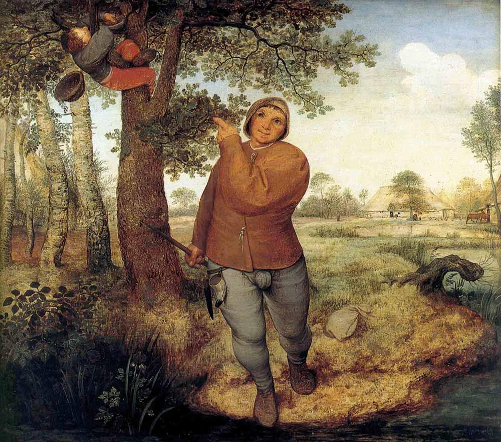 Pieter Bruegel Hayvan Yuvası Karıştıran