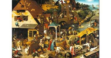 Pieter Bruegel Hollanda Atasözleri II