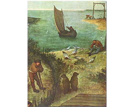 Pieter Bruegel Hollanda Atasözleri