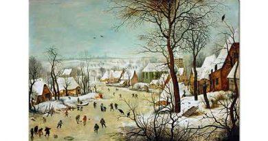 Pieter Bruegel Kış Manzarası