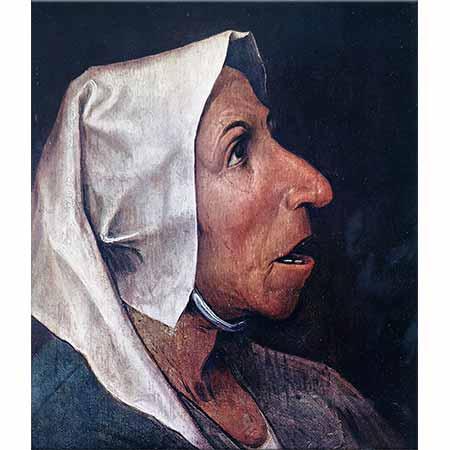 Pieter Bruegel Yaşlı Çiftçi Kadın