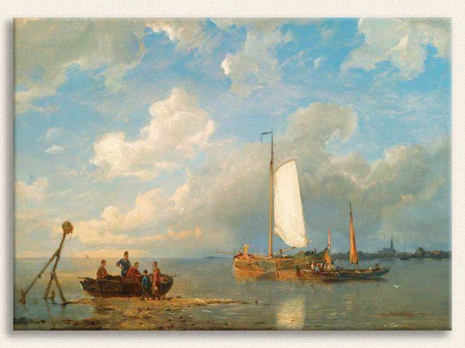 Pieter Christiaan Dommersen Dutch Körfezinde Tekneler