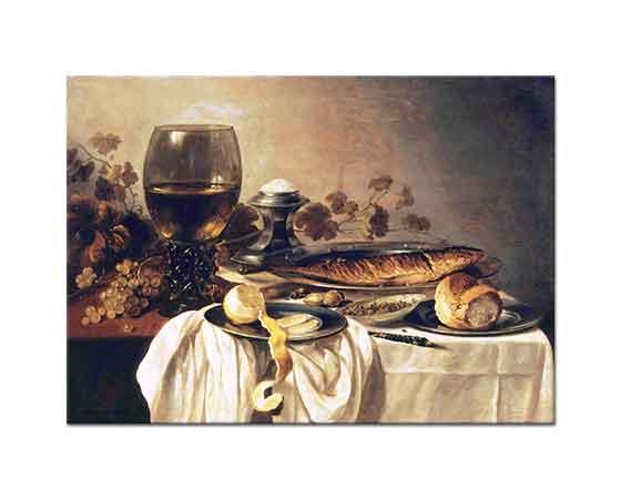 Pieter Claesz Kahvaltı