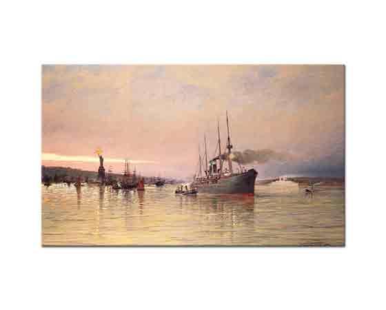 Pieter Cornelis Dommersen New York Limanı