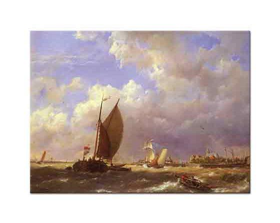 Pieter Cornelis Dommersen Yelkenliler