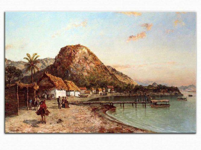 Ralph Albert Blakelock Jamaika Sahili