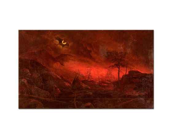 Ralph Albert Blakelock Ormanın Ateşi