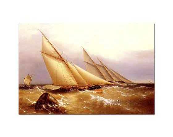 Captain Richard Brydges Beechey Yat Dubayı Dönerken