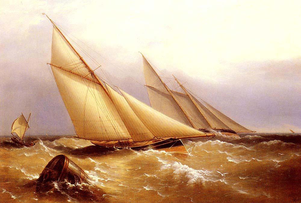 Captain Richard Brydges Beechey Yat Dubayı Dönerken