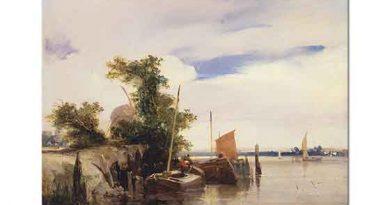 Richard Parkes Bonington Nehir Dubaları