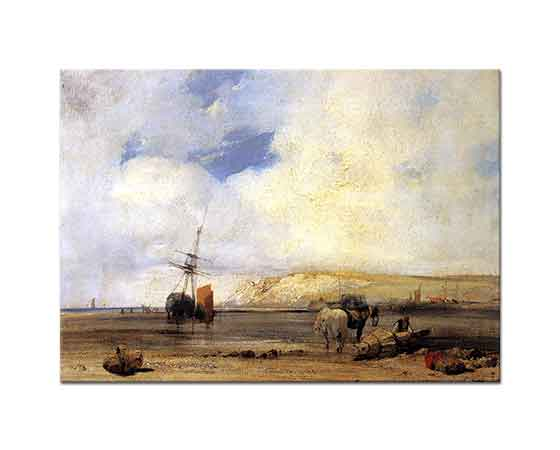 Richard Parkes Bonington Picardy Sahili