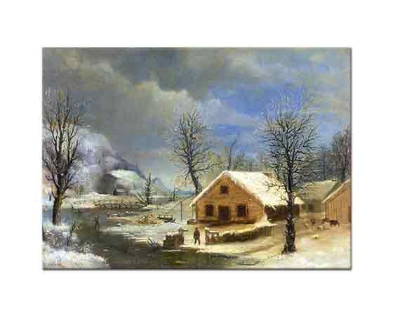 Robert Scott Duncanson, Kış