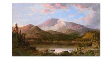 Robert Scott Duncanson, Oxford Dağı