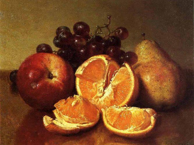 Robert Spear Dunning Meyveli Natürmort