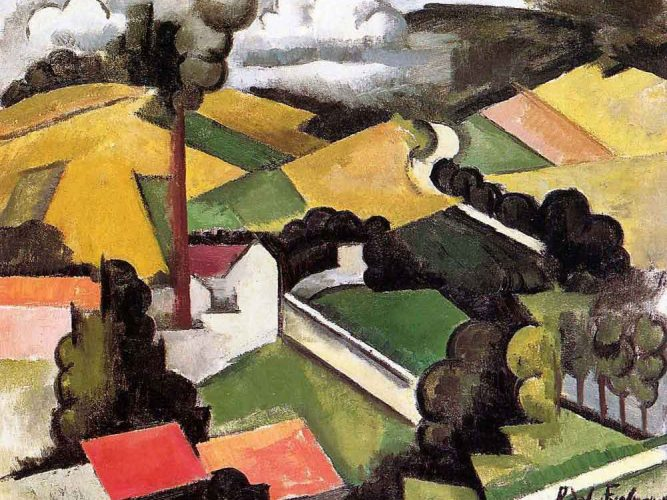 Roger de la Fresnaye Fabrika tablosu