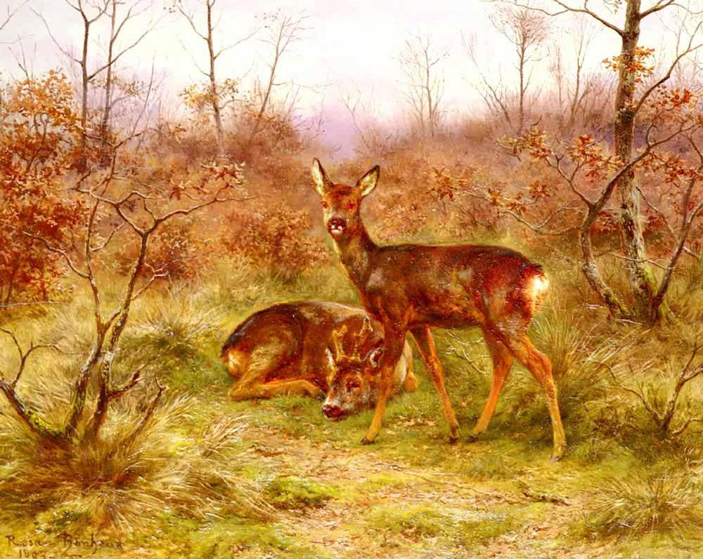 Rosa Bonheur Ormanda Geyikler