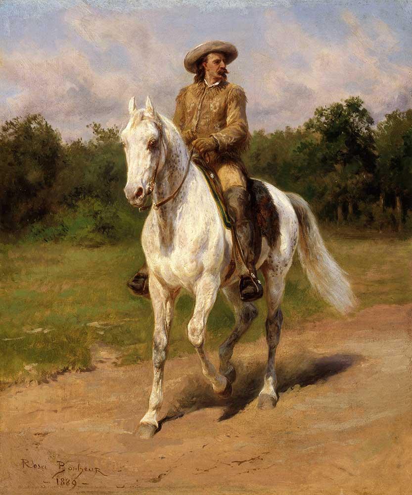 Rosa Bonheur William F Cody'nin Portresi